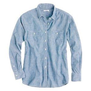 J. Crew chambray shirt size XXS